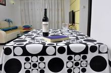 Brief modern Cotton fabric table cloth coffee tablecloth rectangle and square dining tablecloth