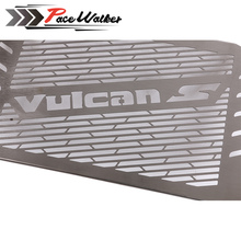 FREE SHIPPING Stainless Steel RADIATOR GUARD COVER Grill Protector Fit For Kawasaki VULCAN S 15-16 VULCAN 650