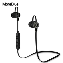 MoreBlue BT06 Wireless Bluetooth Earphones Sport Running Headphones Stereo Super Bass Headset Earbuds Handsfree With Mic