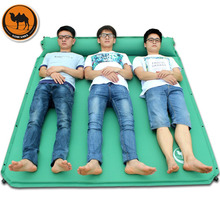 Desert Camel CS033-3 Super Wide Automatic Inflatable Sleeping Mat Mattress With Pillow Moisture-proof Foldable Bed Drop Shipping