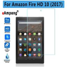 Premium Quality Tempered Glass For Amazon Fire HD 10 2017 Tablet Screen Protector For Amazon Fire HD 10 2017 Cover Case(China)
