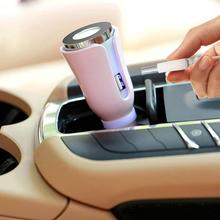 Car Air Purifier Mini USB Charger Office Car Purification Voiture Aromatherapy Machine Automobile Interior Accessories(China)
