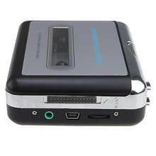 ETC-USB Portable Cassette to MP3 Converter Tape-to-MP3 Player with Headphones(China)