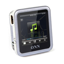 Mini Sport Original ONN Brand Q6 4GB MP4 Player Downloads Free Videos for Walkman 1.5 inch MP4 Music Player Can Play 100 Hours