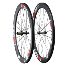 55mm clincher hookless carbon road bicycle wheels v brake IMUST Brand 20 24 spoke holes UD matt 700c bicycle wheel