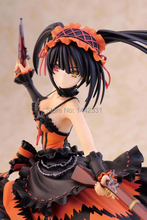 21cm Date A Live Nightmare Tokisaki Kurumi Animation Cartoon PVC Model Toys Action Figure Brinquedos Free Shipping(China)