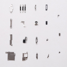 21Pcs/ Set for iPhone 5s Inner Accessories Inside Small Metal Parts Holder Bracket Shield Plate Set Kit