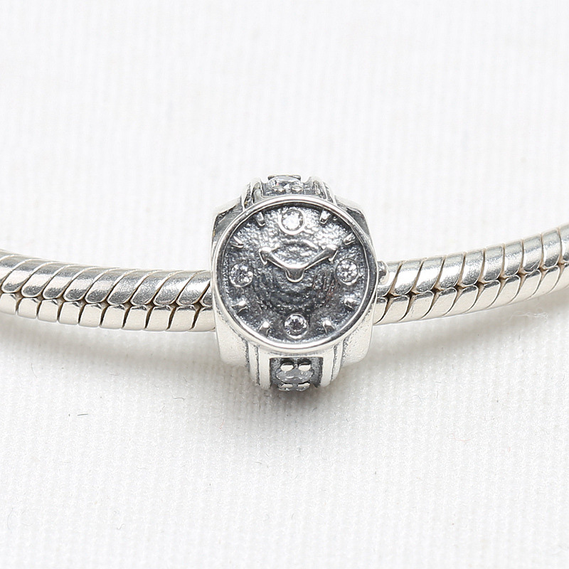 Generous Zoudky New 100% 925 Sterling Silver Winter Series Space Christmas Astronaut Charm Planet Bead Elegance Dazzling Fireworks Charm Beads & Jewelry Making