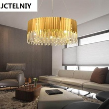 Brief crystal stick pendant light new classic lamp bar counter Size can be customized(China)