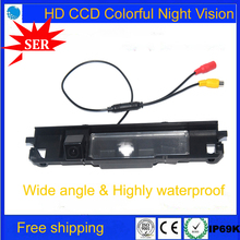 Free ship New HD CCD Chip Car Rear View Reverse backup Camera parking reversing Rearview for TOYOTA Yaris/Vitz Factory Promotion