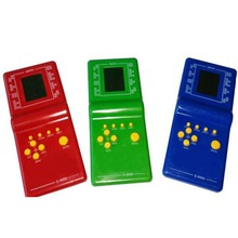 2017 Classic Childhood Tetris Game Hand Held LCD Electronic Game Toys Fun Brick Game Riddle Handheld Game Console