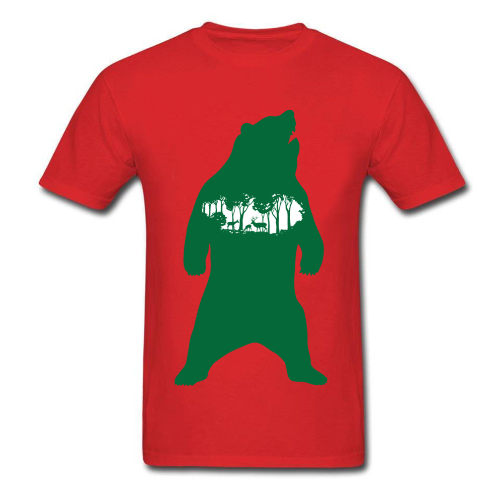 Green Bear_red