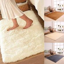 50*80cm Carpet Floor Bath Mat Suede Non-slip  Mat Bathroom Floor Rugs Plush Memory Velvet Mats Dust Doormat Absorbent Floor Rug