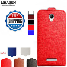 LIHAIJUN High Quality Pu Leather Flip Case For Digma Linx C500 3 G Case Cover 5 Colors