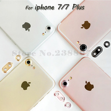 Arrival Fashion Rear Camera Glass Guard Circle Metal Lens Protective Case Cover Ring Bumper For iPhone 7 4.7/7Plus 5.5/6 6s Plus