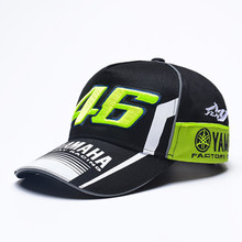2017 New Snapback Hats Wholesale YAMAHA Rossi 46 Embroidery Baseball Cap Hat Motorcycle Racing VR46 Caps Bone For Men Women(China)