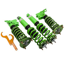 Upgrade Adj. Damper Coilover For 1989-1990 Nissan S13 240SX Shock Absorbers 180SX 240SX 240SX 89-94 COilovers Spring Suspensions(China)