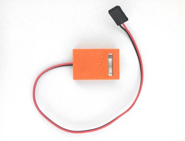 RC Model Xenon Flashing Light with Shell Dupont 2.54 3P Plug SKU:11827<br><br>Aliexpress