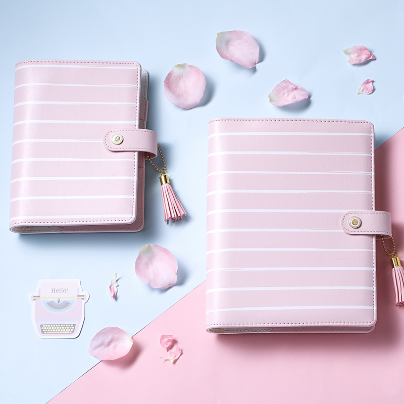 Lovedoki 2018 Cherry Blossoms Diary Sakura Dokibook Notebook A5 Cute Weekly Planners Organizer A5a6 Office And School Supplies<br>