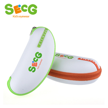 SECG Cute Spectacle Glasses Case Eyeglass Protector Glasses Box Bag Zipper Brand Designer Kids Accessories(China)
