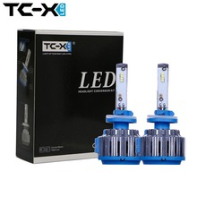TC-X Antifog H27 880 881 LED Light Car Headlights Bulbs Kit for 12V Auto Driving Fog Lights External Lights Turbo LED Light
