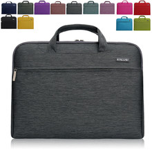 New waterproof arrival laptop bag case computer bag notebook cover bag 11/13/14/15 inch for Apple Lenovo Dell Computer bag(China)