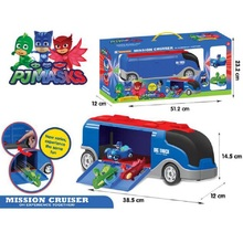 Les Pyjamasques PJ Masks Mission Cruiser Toy PJ Masks Anime Connor Greg Amaya Cool Car With Big Truck Collection Display Jouet(China)