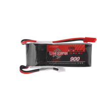Wild Scorpion 11.1V 900mAh 25C MAX 35C Lipo Battery 3S JST Plug for RC Car Airplane e-sky big lama Helicopter Part