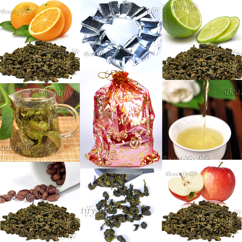 gifts bag,20 bag/10 kinds Flavor Oolong Tea,Peach/Grape/Litchi/Mango/Orange/Leom/chocolate/mint flavor Tieguanyin,CTX291-2
