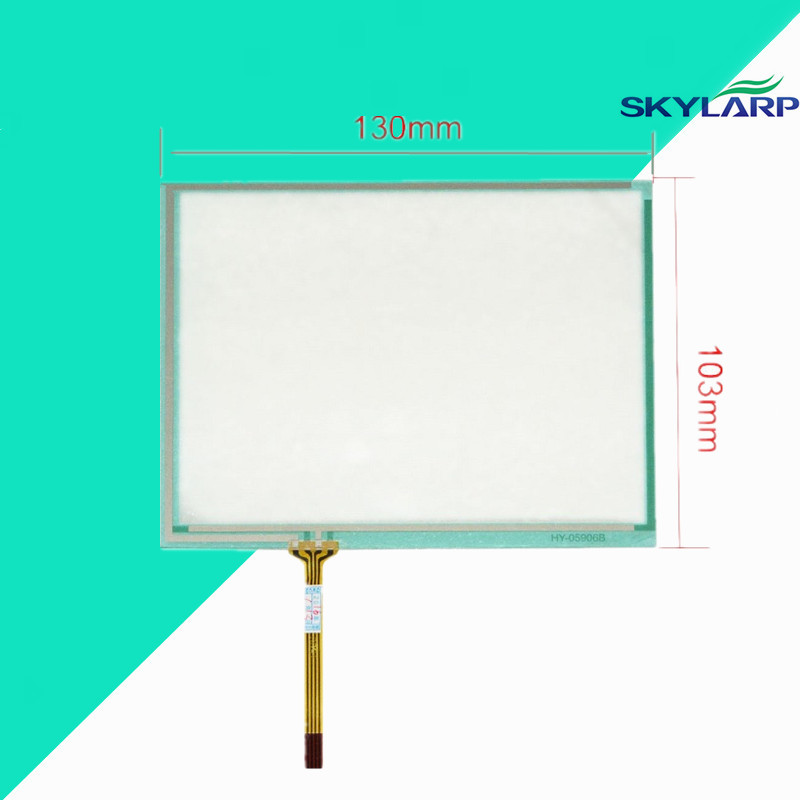 New 130*103mm Touch Panel Replacemen HT057A-NDOF645 Touch Screen panel Glass Free shipping<br>