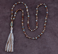 Boho Natural Stones with Crystal Nepal Beads Necklace Classic Beaded Women Necklace High End Natural Stone Jewelry