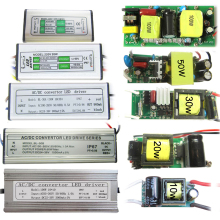 1pcs Waterproof / Non-waterproof AC 110-220V 10W 20W 30W 50W 70W 80W 100W Power Supply LED Driver For LED Flood light Lamp Part