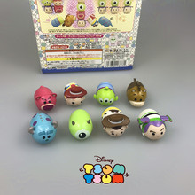 8 Styles Tsum Tsum Toy Story Woody Buzz Lightyear&MikeWazowski Sullivan Stack Action Figures Kids Toys for Girls boys