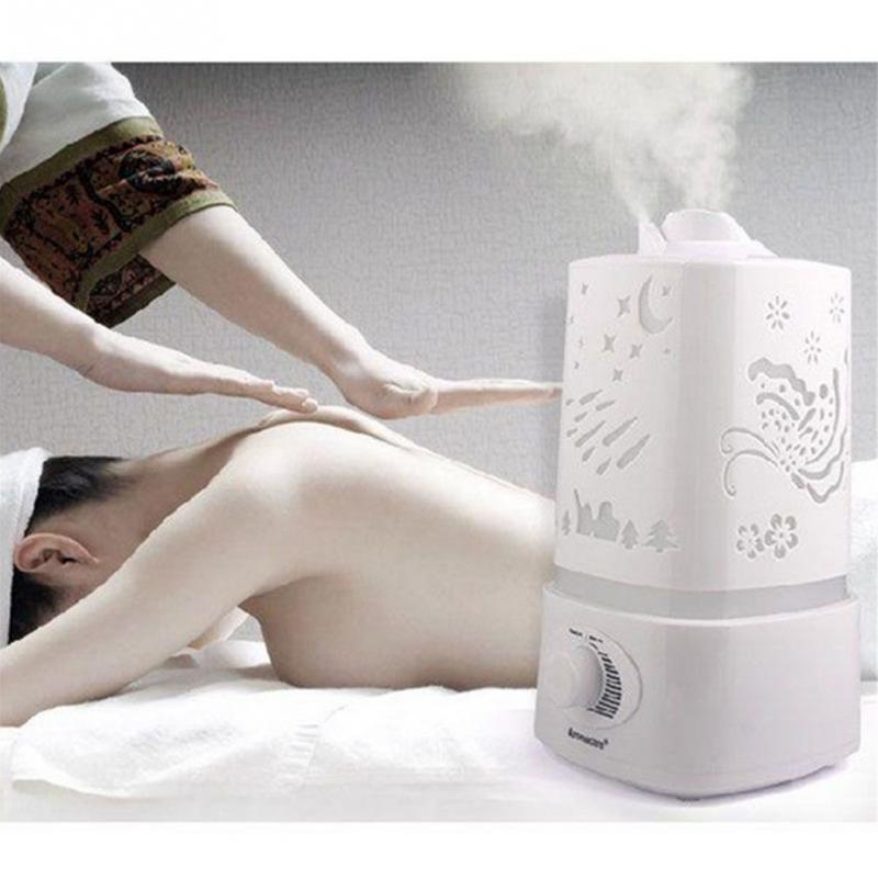 1.5L double sprayer Aroma Essential Oil Diffuser Aromatherapy Mist Maker relieve strain refreshes air for SPA Yoga<br>