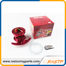 RASTP -  WORKS BELL Tilt Racing Steering Wheel Quick Release Hub Kit Adapter Body Removable Snap Off Boss Kit LS-QR006