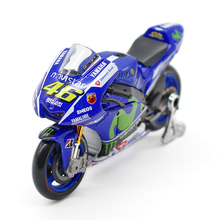 Maisto 1:18 YAMAHA YZR-M1 #46 Rossi Moto GP 2015 Ver. Die-casts  Metal bike Collection Models