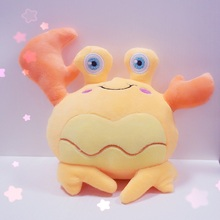 New three Colors Cartoon Crab Kids Toys 16cm  Crab Plush Toys Doll Infant Plush Crab Toys Hot Sale