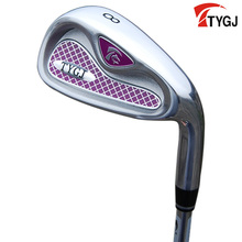 Brand TTYGJ. Single 8 IRON for women beginner.made for females 8iron golf club steel or carbon shaft. golf club #8(China)