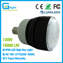 400W HID replacement E39 LED light bulbs 120Watt 5000K pure white AC100~277V Canopy fixture 120 degree Beam Angle