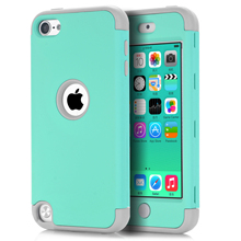 For iPod Touch 5 /Touch 6 Cover Shockproof Protective Case Heavy Duty High Impact For iTouch 5 6th Generation +Screen Protector