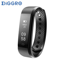 Diggro ID115 HR Wristband Heart Rate Monitor Fitness Bracelet Sport Tracker Waterproof Bluetooth  id115hr Smartband for iphone