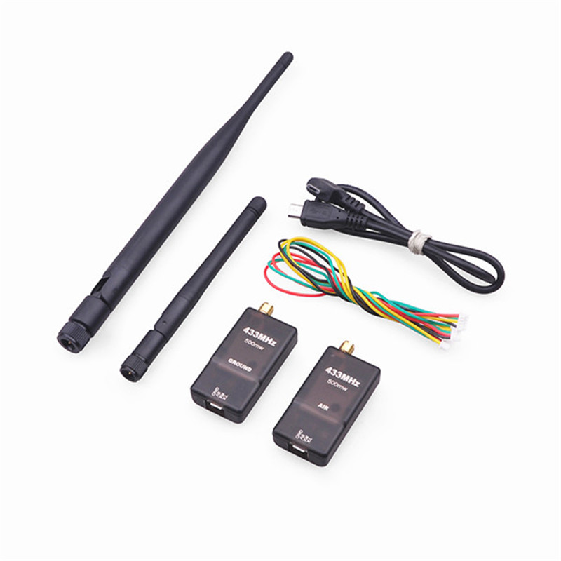 2017 New Arrival 3DR 500mW 915MHz/433MHz Radio Telemetry Module w/ OTG For Android Phone<br>