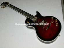 New Arrival Black Cherry Supreme Electric Guitar High Quality Mahogany Body Wholesale OEM Cheap(China)