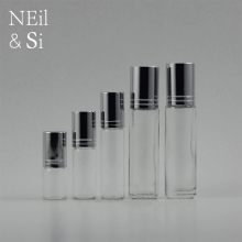 3/5/7/10 ml Perfume Essential Oil Roll on Glass Bottle Empty Refillable Transparent Cosmetic Makeup Perfume Roller Bottles(China)