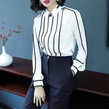 Buy Spring Chiffon Blouse Women 2018 Fashion Womens Clothing Long Sleeve Large Sizes Office Lady White Shirt Blouse Womens Tops for $46.75 in AliExpress store