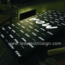 Outdoor Waterproof Advertising LED Light Box for Pavement Stand Advertising Display(China)