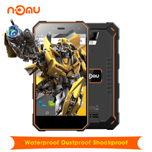 "Original Nomu S10 Android 6.0 Waterproof Dustproof Shockproof 5.0"" 4G Smartphone 5000mAh MTK6737 Quad Core 2GB+16GB Cellphone(China)"