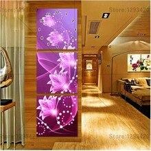 5d Diy diamond Painting Purple crystal flower   Clock full drill square  rhinestones pasted diamond embroidery mosaic home decor 9c1c4bfac44a