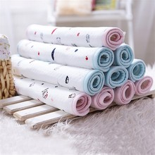 Baby Changing Mat 2 Size Baby Waterproof Urine Pad Cotton Waterproof Bed Sheets Nappy Newborn Pad Bedding Care