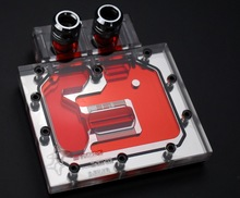 Bykski A-RH-XR half Cover Graphics Card Water Cooling Block micro- channel design.